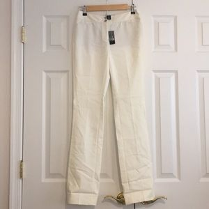 White trousers - White House Black Market New!